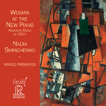 Woman at the New Piano Cover
